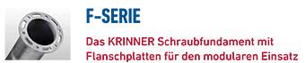 KRINNER Schraubfundamente F-Serie