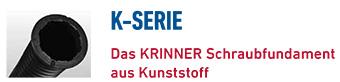 KRINNER Schraubfundamente K-Serie