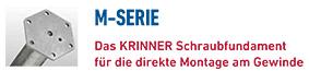KRINNER Schraubfundamente M-Serie