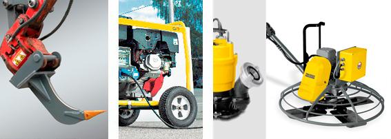 BTW-Mietservice Klein- und Anbaugeräte