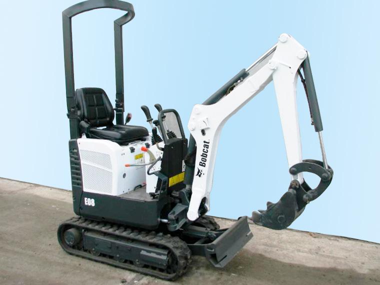 BTW-MIETSERIVCE Bobcat E08 Minibagger