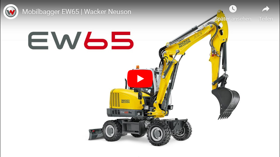 BTW Wacker Neuson EW 65